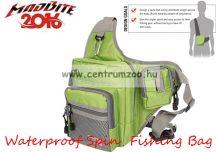 MadBite táska Waterproof Spin  Fishing Multifunkcional Sling Bag pergető táska (MB-SB-G)