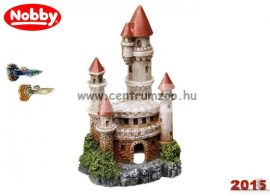 Nobby akvárium dekoráció kastély 12,5*7,5*6,5cm (28260)