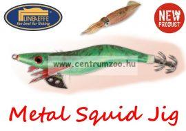 Lineaeffe Super Attractive Metal Squid Jig COLAB-4 tengeri műcsali 7,5cm (5079602) -ZÖLD