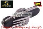Carp Spirit Camping Knife Black zsebkés, bicska (ACS220000)