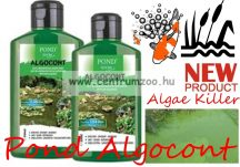 Pond Zoom Algocont - Tavi alga gátló oldat - algaölő  500ml  12,5m3 tóhoz (PZ3031) NEW