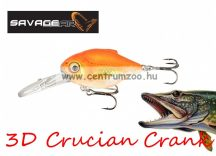 Savage Gear 3D Crucian Crank34 3.4cm 3g F SR 02-Goldfish (53765)