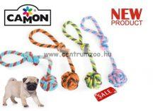 Camon PALLA CON MANIGLIA fogtisztító KÖTELES LABDA kutyáknak 30cm (A970/E)