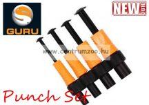 Guru Punch Set pellet készítő szerszám 6-8-10-12mm méretű nyomóval (GPS)