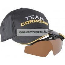 Cormoran Grau napellenzőre csíptethető napszemüveg 82-16803
