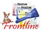 """FRONTLINE Spot On """"M"""" kullancs és bolha elleni csepp 10-20kg közti kutyáknak NEW"""
