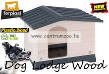 Ferplast Dog Lodge  90 Wood Outdoor fa kutyaház (87248099 )