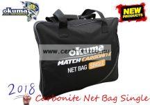 Okuma Match Carbonite Net Bag Single 60x48x10cm háló és merítőfej táska (54174)