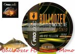 Prologic Bulldozer FC Coated Mono Fluo Yellow 1000m 18lbs 0.37mm pontyos zsinór (54477)