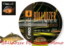 Prologic Bulldozer FC Coated Mono Fluo Yellow 1000m 18lbs 0.37mm pontyos zsinór (54477)