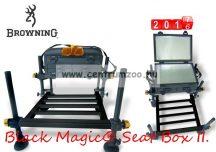 Browning Black Magic® Seat Box II. horgászláda lábráccsal (8000002)