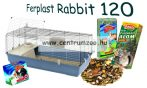 Ferplast Rabbit 120 MEGA PACK NEW felszerelt nyúlketrec