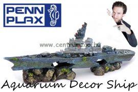 Penn Plax Deco dekorációs hajóroncs akváriumba 33cm (048302)