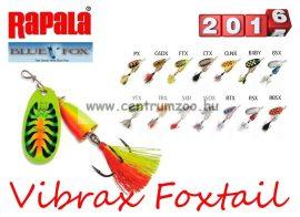 RAPALA BLUE FOX Vibrax Foxtail BFX3 villantó