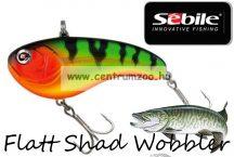 Sebile® Flatt Shad megbízható wobbler FS-050-XH FTG- FireTiger (1404986)