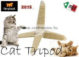 Ferplast Tripod Tiragraffi élménydús cicakaparó és játék