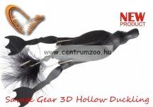 Savage Gear 3D Hollow Duckling weedless L 7,5cm 15g 05-Black kiskacsa csukára, harcsára  (57653)
