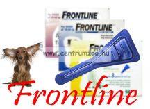 """FRONTLINE Spot On """"S"""" kullancs és bolha elleni csepp 2-10kg közti kutyáknak NEW"""