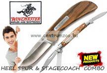 Winchester® HEEL SPUR & STAGECOACH zsebkés fém díszdobozban (003536)