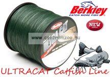 Berkley Ultracat Moss Green Super Strong 300m 0,30mm 40kg fonott zsinór