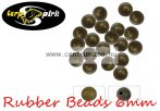 Carp Spirit Rubber Beads DarkGreen 6mm - 25db szilikon gyöngy (ACS010250)