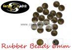 Carp Spirit Rubber Beads DarkGreen 6mm - 25db szilikon gyöngy (ACS010250)