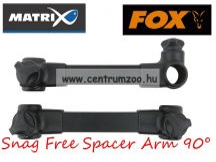 FOX Matrix Snag Free Spacer Arm 90° fordítható prémium ÖSSZEKÖTŐ kar (GBA013)