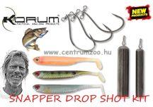 KORUM SNAPPER DROP SHOT KIT - MIX 2 (KSN/DS2) drop shot szett 7cm