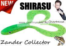 Balzer Shirasu Zander Collector  gumihal 12cm 15g (0013676512) Lime-Chartreuse