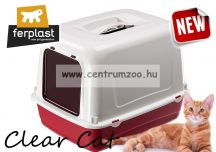 Ferplast Clear Cat 10 filteres cica WC NEW ajtóval, szénfilterrel (72064099)