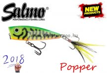 Salmo FURY POP FLOATING - 7cm wobbler - FP7 GREEN TIGER (QFP006)