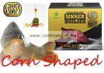 SBS Corn Shaped Sinker Boilies fűzhető csali 8-10mm 60g - White Pepper Corn (fehérbors)