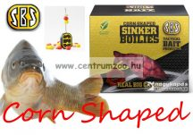 SBS Corn Shaped Sinker Boilies fűzhető csali 8-10mm 40g - White Pepper Corn (fehérbors)