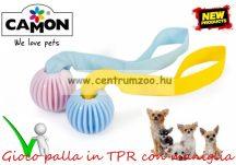 Camon Gioco palla in TPR con maniglia KÖTELES LABDA és kiképző kutyáknak 55mm 30cm (AD051A)