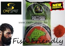 CARP SPIRIT France 100% Natural Bait - Feeder Red - prémium etető anyag 1000g