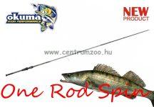 """OKUMA Okuma One Rod Spin 6'6"""" 198cm MH 15-45g pergető bot (45623)"""