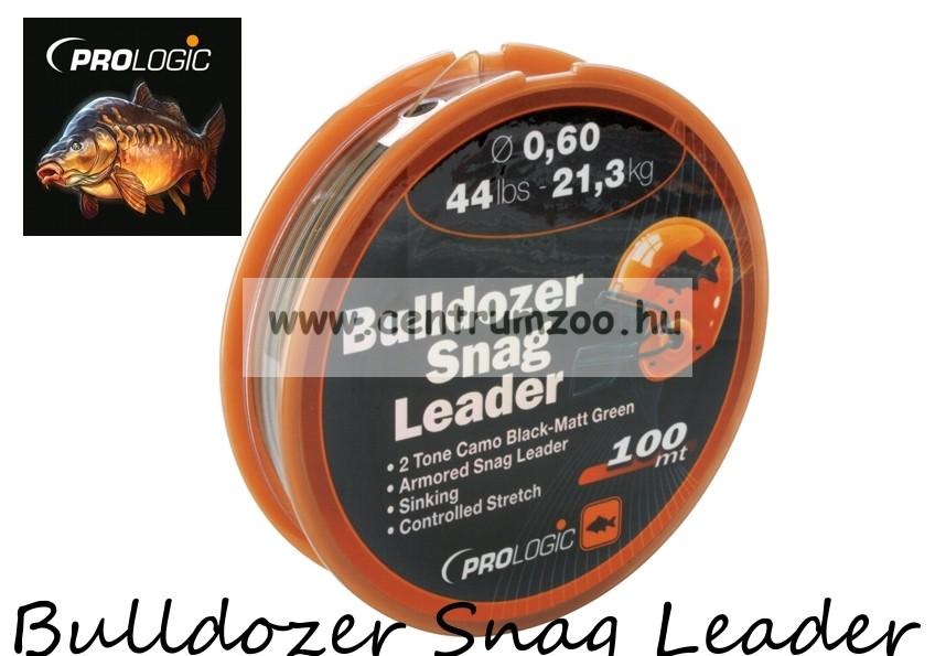 PROLOGIC Bulldozer Snag Leader 100m 58lbs 27.8kg 0.70mm Camo előtétzsinór  (44688) 40b614167d
