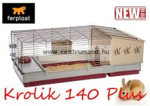 Ferplast Krolik Rabbit Bordeaux 140 PLUS (57072570) Rabbit Giant nyúl ketrec