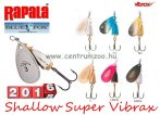 RAPALA BLUE FOX Shallow Super Vibrax BFSSV3 villantó