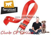 Ferplast Club CF 25/45  2,5cmx45cm nyakörv fém csattal (752669**) több színben