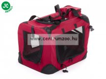 JK Animals Dog & Cat Transport Box szállító box - MEDIUM - 60X42X42Cm  (41551)