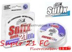 Sufix Super 21 Fluorocarbon 0,60mm 10m 40lb 18kg japán előkezsinór