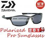 Daiwa Polarized Sunglasses black frame grey lens modell DPROPSG7 -szürke lencse (202728)