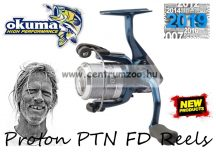 Okuma Proton PTN-40 FD 3+1bb inc. 120m Braid 0.19mm zsinórral orsó (57731)
