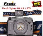 fejlámpa  FENIX HL12RG Grey LED FEJLÁMPA (400 LUMEN) vízálló NEW - SZÜRKE