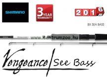 Shimano bot VENGEANCE BX SEA BASS 2,1 H  20-60g (SVBX21SBH ) pergető bot