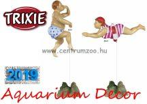 Trixie akvárium humoros dekoráció - fürdőző nő 16cm  (TRX88222)
