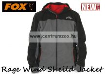 FOX Rage Wind Sheild Jacket Grey KABÁT - XXLarge (NPR099)