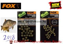 Fox EDGES™ Tapered Bore Beads GUMIGOLYÓ KÚPOS BELSŐ FURATTAL 4mm (CAC557)