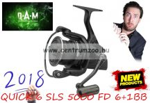 D.A.M QUICK 6 SLS 5000 FD 6+1BB távdobó orsó (D56941)